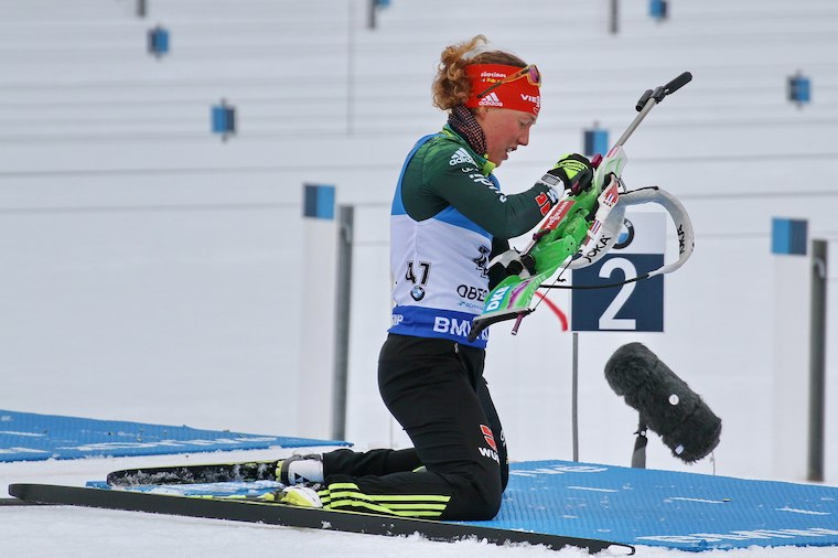 Vasta 25-vuotias Laura Dahlmeier on voittanut urallaan 13 MM-mitalia, joista 7 on kultaisia.