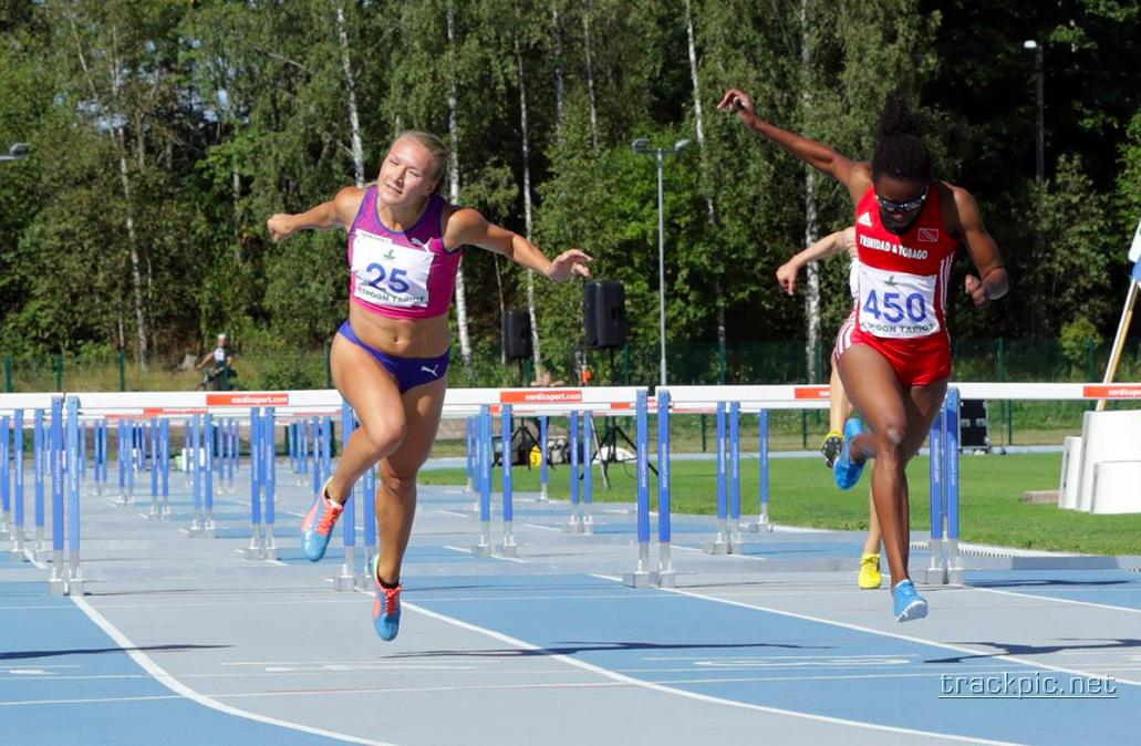 Matilda Bogdanoffilta huippujuoksu – Suomen ennätys enää muutamien sadasosien päässä