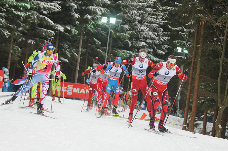 Biathlon is a great TV sport. Especially the mass starts are usually extremely exciting from the beginning until the end.
