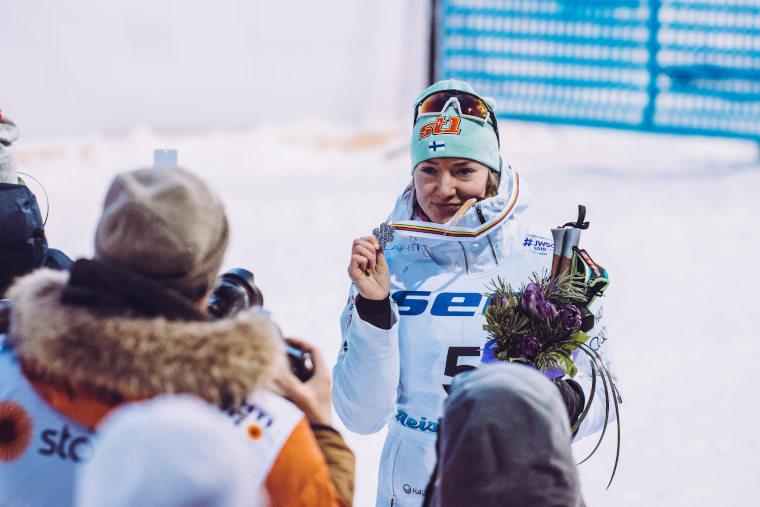 Anita Korva MM-pronssille sprintissä!