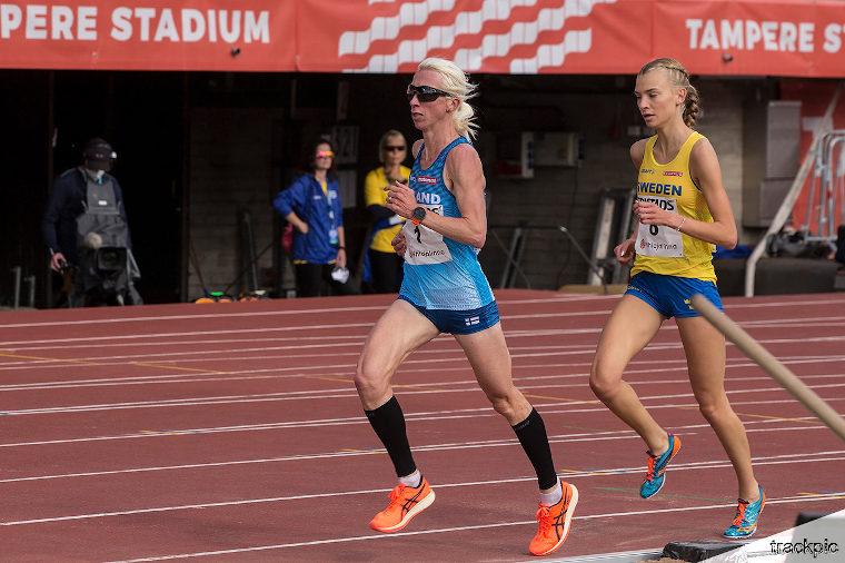 Annemari Kiekara MM-puolimaratonilla Puolassa - Katso livestream!