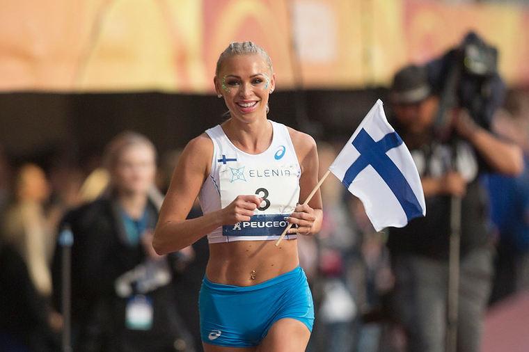 Suomen ennätys, olympiaraja ja Euroopan kakkosaika - Annimari Korte putsasi pöydän Joensuun pika-aidoissa!