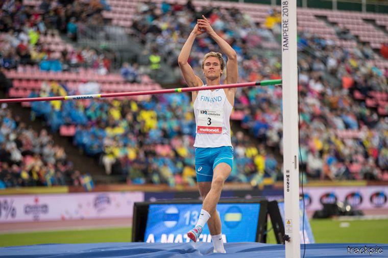 U20 EM-kisat: Sara Killinen upeasti moukarikarsinnan ykkönen, Arttu Mattila ilman pudotuksia korkeusfinaaliin
