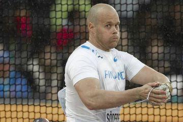 Moukarinheittäjä David Söderberg lopettaa urheilu-uransa