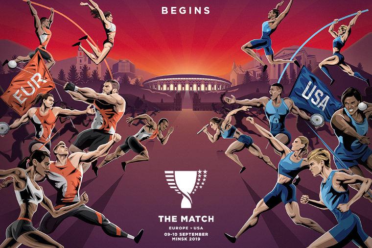 Yhdysvallat ja Eurooppa mittaavat paremmuutensa yleisurheilussa – kilpailussa käytössä poikkeukselliset säännöt