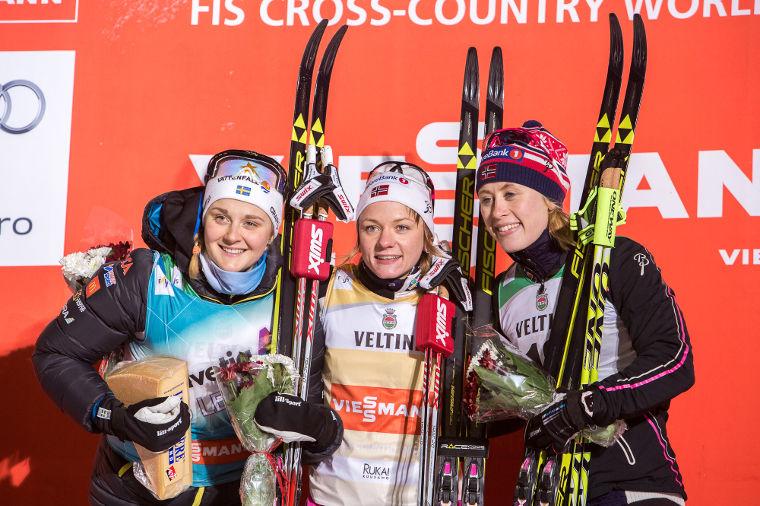 Quebec Naisten Sprintti: Nilsson ja Falla ratkaisevat sprintticupin voiton