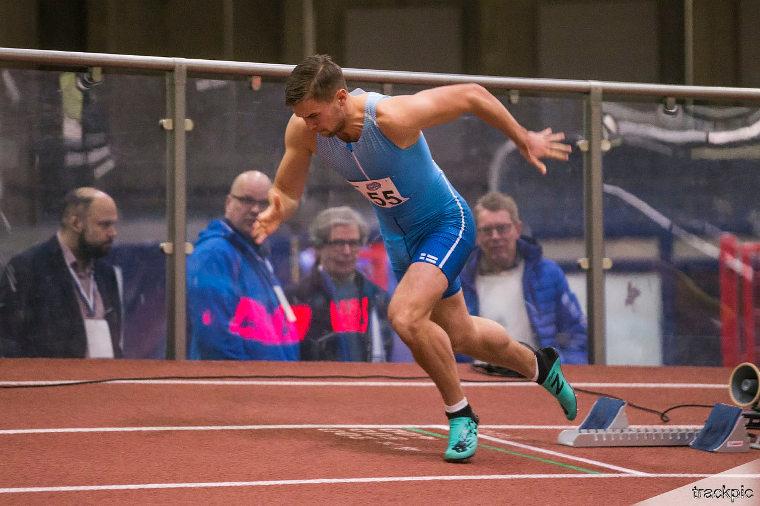 Johansson haluaa kehittyä 400 metrin arvokisajuoksijaksi.