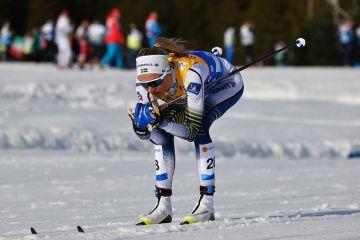 Frida Karlssonilta vakuuttava kauden avaus Jällivaarassa - päihitti Charlotte Kallan tämän bravuurimatkalla