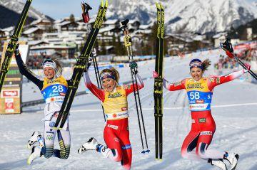 Hiihdon MM 2019: Naiset 30 km - Johaug myös päätösmatkan valtiatar, suomalaiset kaukana kärjestä