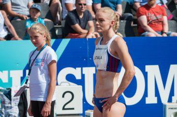 Hanna-Maari Latvala juoksee tänään Lausannen Timanttiliiga-illassa