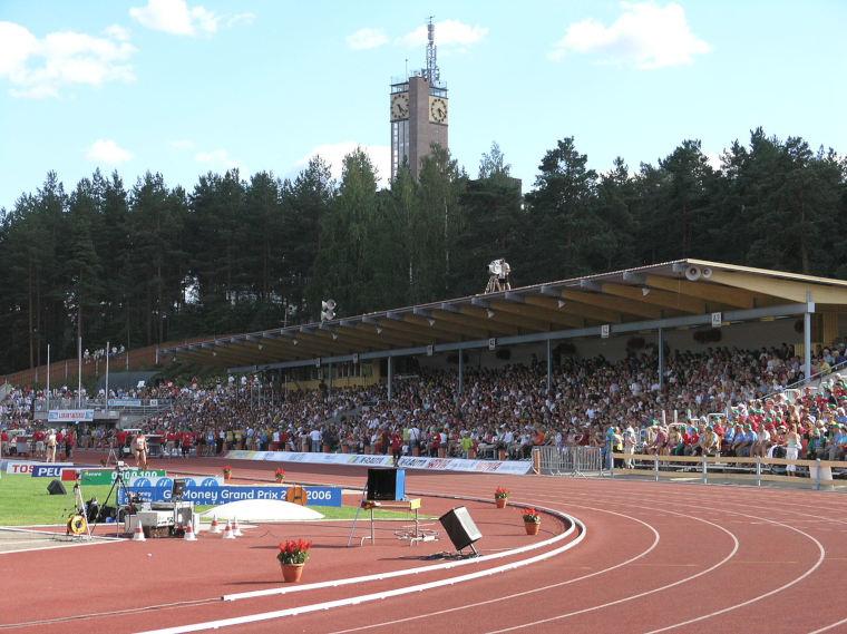 Kalevan kisojen järjestäjä vaihtuu vuosittain. Vuonna 2018 Suomen mestaruuksista miteltiin Jyväskylässä Harjun kentällä.