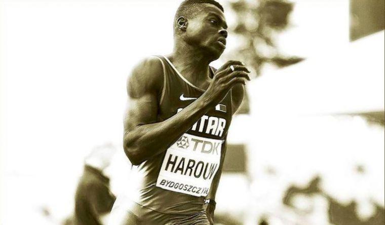World Championship medallist Abdalelah Haroun died in a car crash