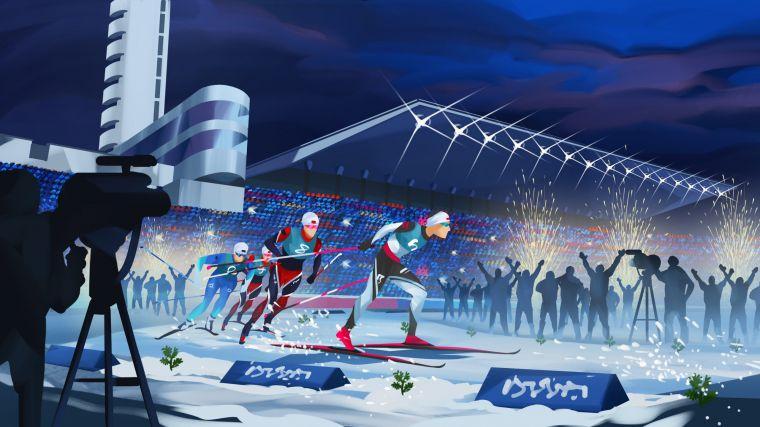 Helsinki Ski Weeks 2021 - Stadion Sprint