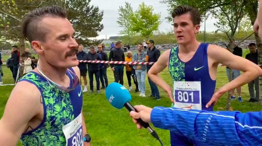 Jakob Ingebrigtsen juoksi Norjan ennätyksen maantievitosella