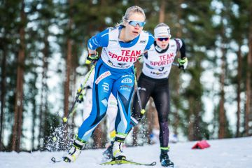 Linn Svahn Tour de Skin naisten avausetapin ykkönen