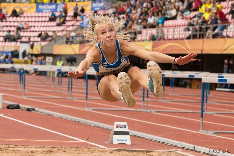 Korkeushypyn superlahjakkuudesta tulee nuorin suomalainen yleisurheilija arvokisoissa 20 vuoteen