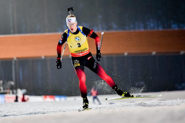 Johannes Bö voitti ampumahiihdon maailmancupin kokonaiskilpailun