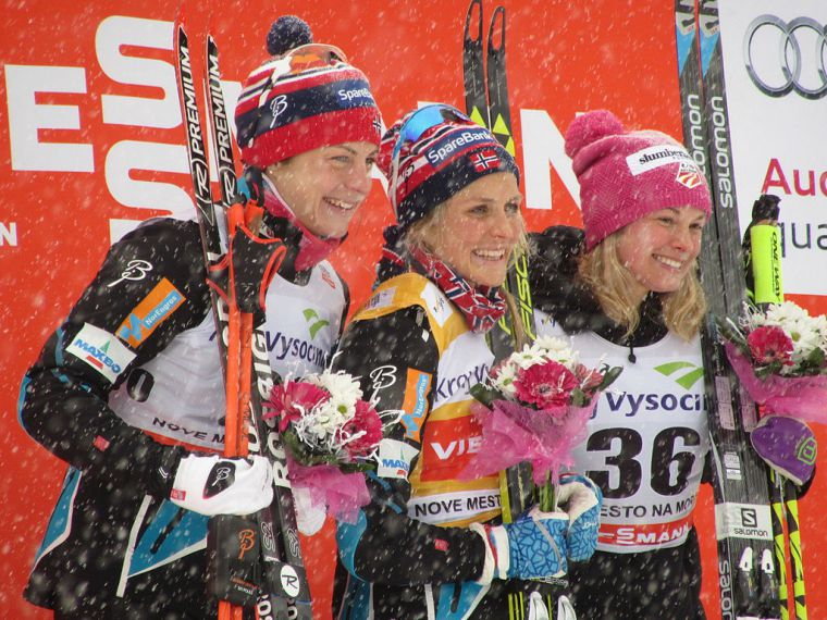 Östberg laittoi Johaugin tiukille Ski Tourin maratonilla - Norjaan jälleen kolmoisvoitto