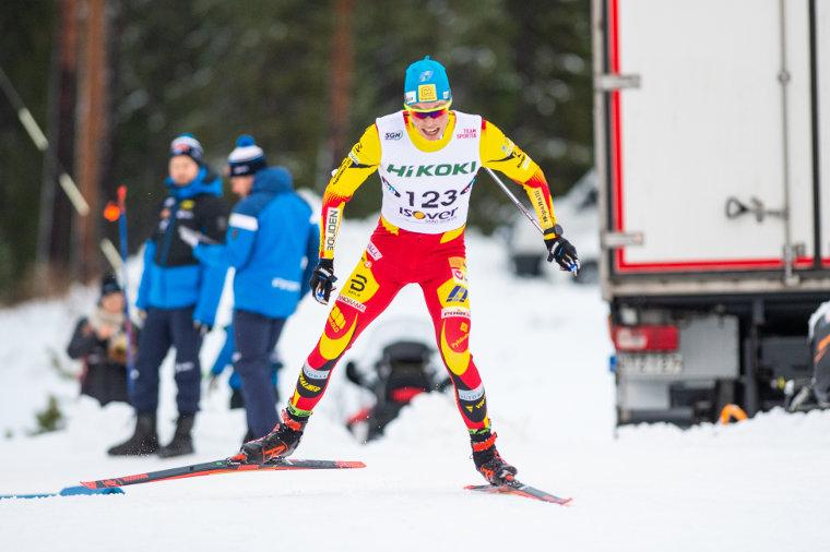 Juuso Haarala hiihti Bodenin kolmipäiväisen minitourin voittoon