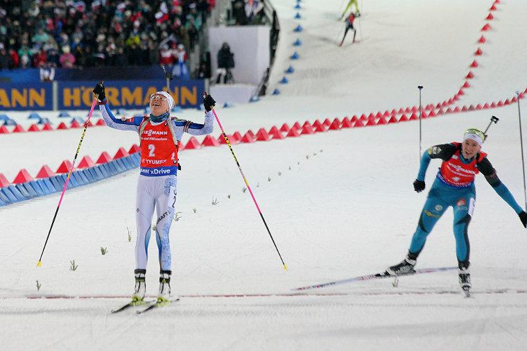 Naiset 12,5 km Normaalimatka - Kanadan Canmoressa hiihdetään täysin poikkeuksellisissa olosuhteissa!