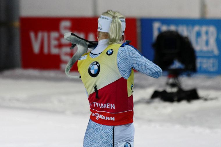Röiseland nujersi Wiererin MM-kisojen yhteislähdössä - Mäkäräinen neljästoista