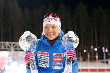 Kaisa Mäkäräinen ilmoitti uransa päättymisestä