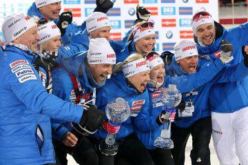 Ampumahiihdon MM 2019 parisekaviesti: Norja voittoon jännittävässä kisassa, Suomi 12.