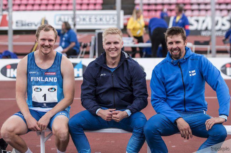 Heitoissa riemua, pikamatkoilla kyyneleitä – Suomalaismiesten kolmoisvoitot Ruotsi-ottelun historiassa