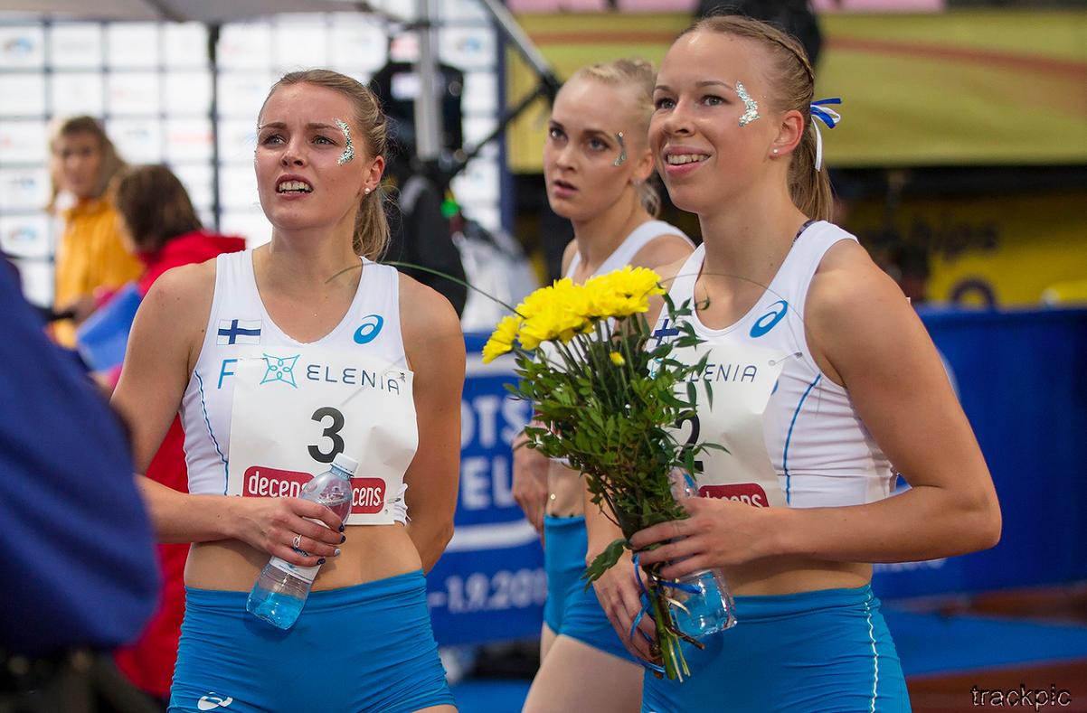 Suomen naiset altavastaajina Ruotsi-otteluun