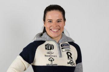 Krista Pärmäkoski palaa ladulle Vantaan Suomen Cupissa