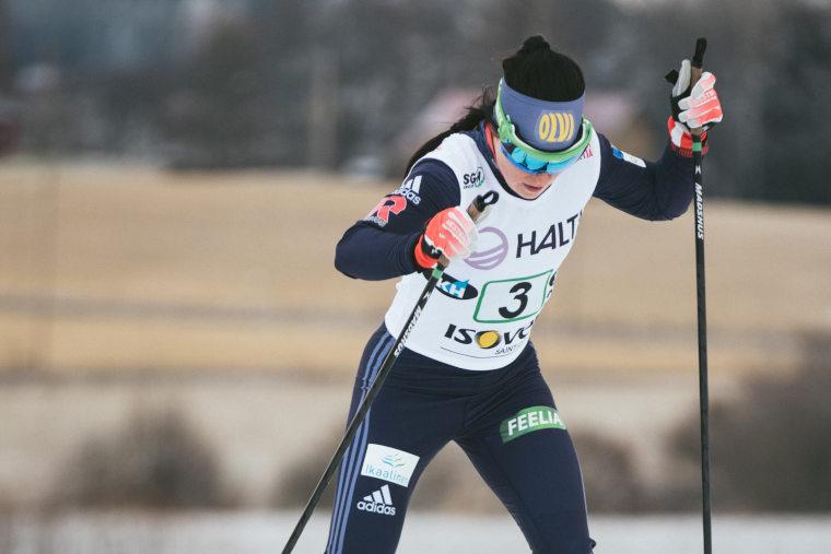 Pärmäkosken paluu Taivalkoskella - Onko Krista huippuiskussa Rukan maailmancupin alla?