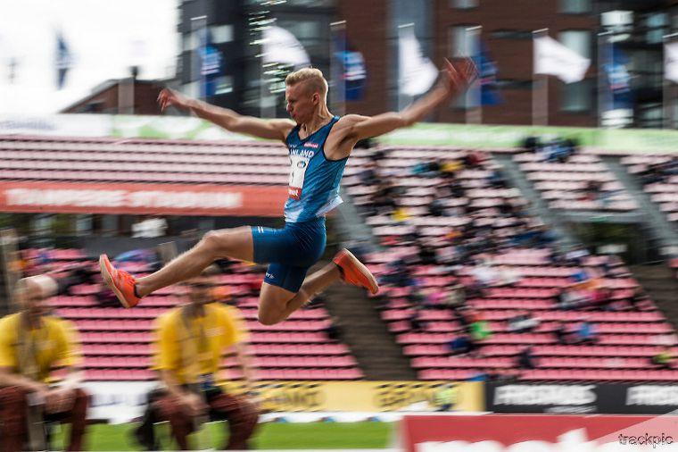Kristian Pulli hyppäsi upeasti EM-hallien pronssille SE-tuloksella