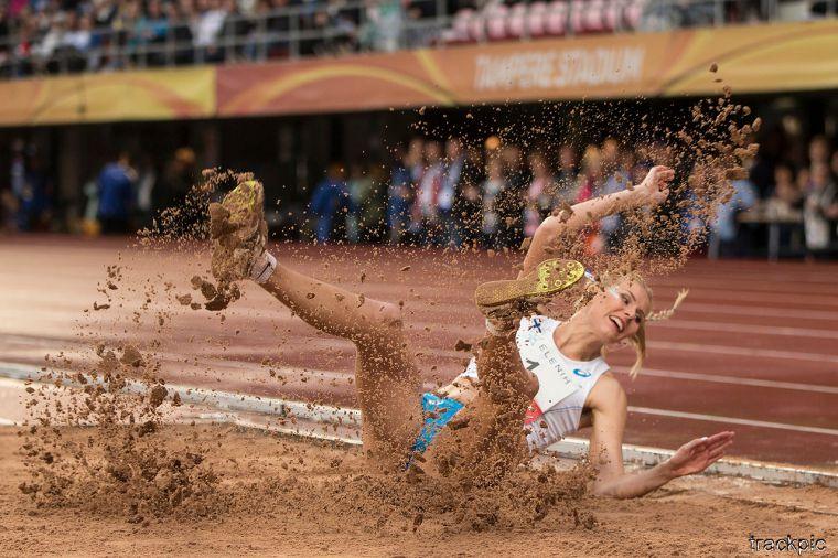 Kristiina Mäkelä loikki uuden Suomen ennätyksen Madridissa