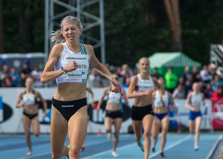 Sara Kuivisto juoksi Suomen ennätyksen!