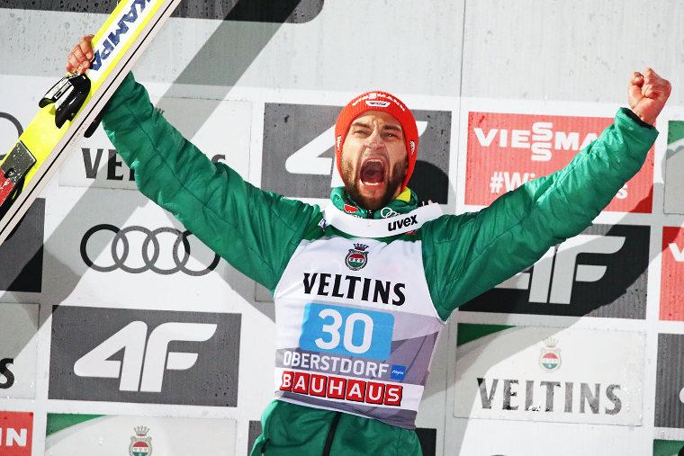 Germany´s Markus Eisenbichler wants to improve his second place from season 2018-2019 Four Hills Tournament.