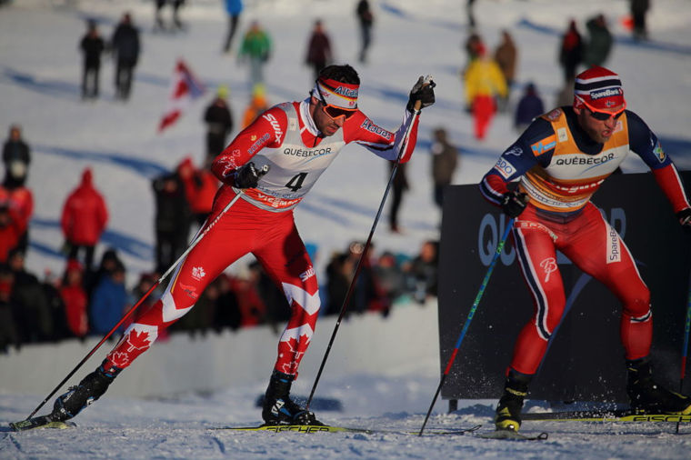 Martin Johnsrud Sundby (on the right) has been very successful on Tour de Ski.