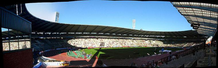 Brysselin Timanttiliiga-tapahtuma Memorial van Damme järjestetään King Baudouin -stadionilla.
