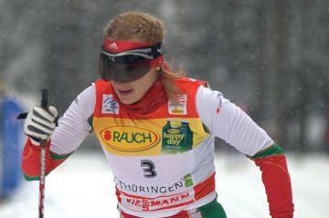 Nastassia Kinnunen ja Santeri Erola Imatran FIS-Kylpylähiihtojen sunnuntain voittajat