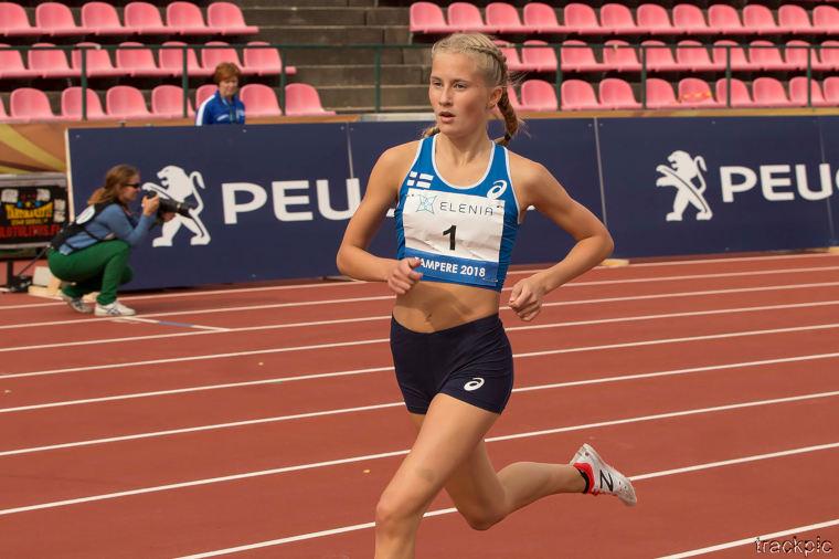 U20 EM-kisat: Nathalie Blomqvist ennätyksellään 3000 m finaaliin - moukarissa nähtiin hirmukaari