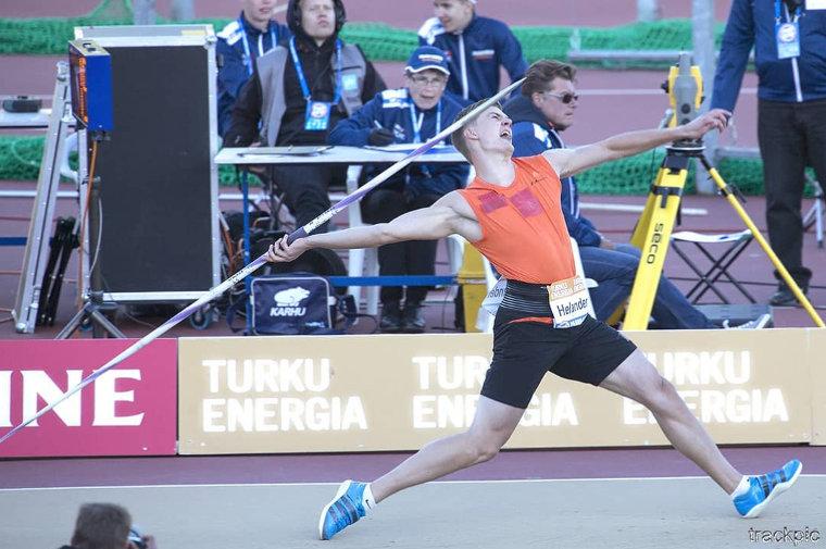 Nähdäänkö Turussa 90 metrin keihäskaari? Kirt, Röhler ja Helander jahtaavat Paavo Nurmi Gamesissa hirmuheittoa