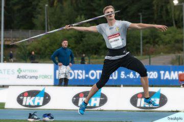 Suomen keihäsmitali jäi haaveeksi sotilaiden MM-kisoissa