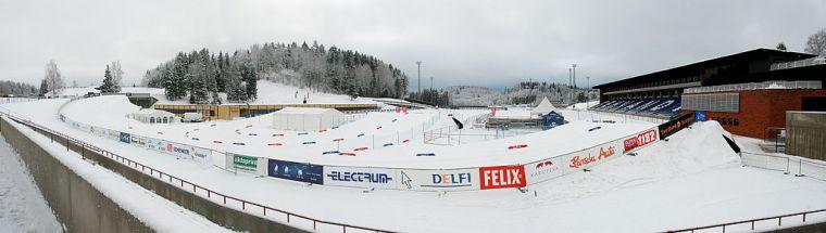 Otepään Tehvandi-hiihtostadion.