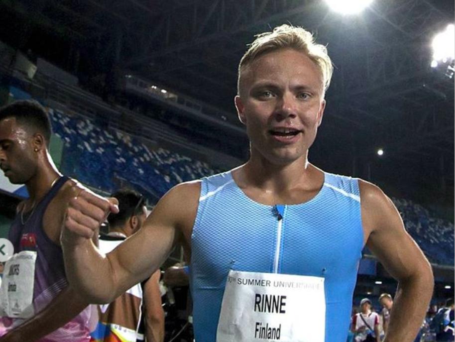 Joonas Rinne juoksi upeasti pronssille Universiadeissa