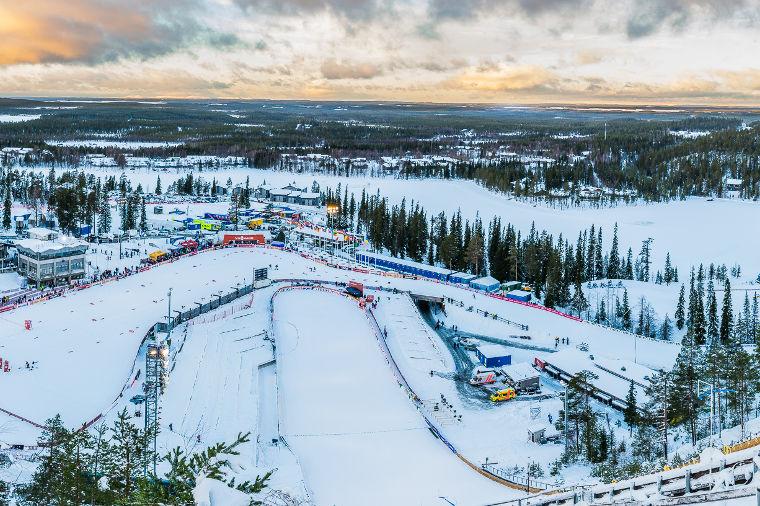 Anni Alakoski Rukan FIS Talvikisojen tuplavoittaja, Antti Ojansivu miesten kympin murskavoittoon