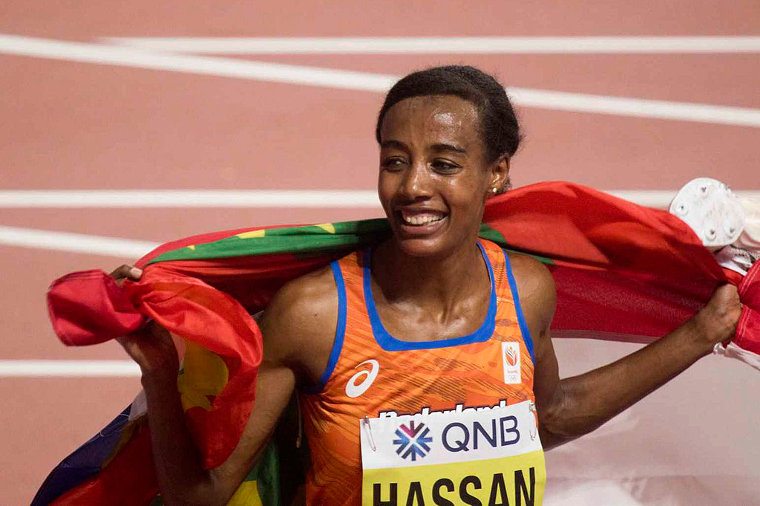 Sifan Hassan had four world records for two days. She still holds the records for one mile, one hour and 5 km road race (Wo).