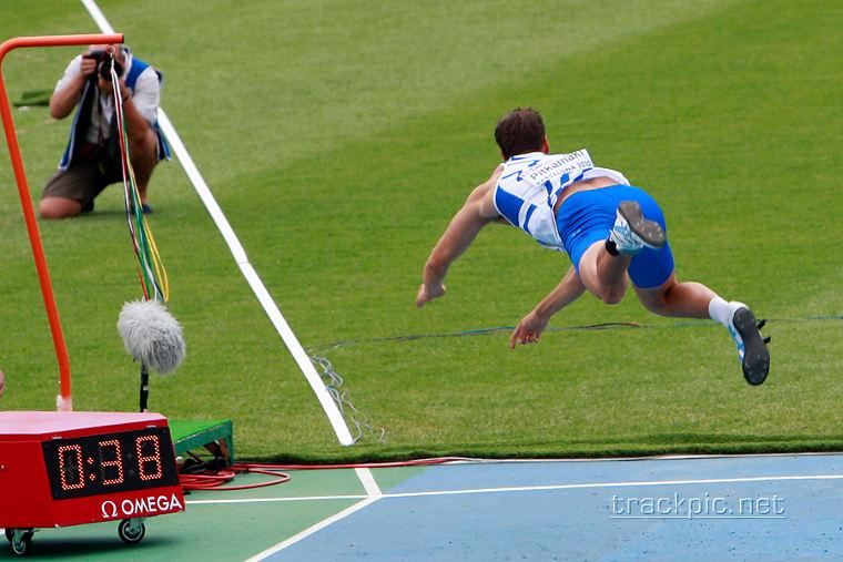 Tero Pitkämäki oli huippuiskussa 2007 Lappeenrannan Kalevan kisoissa heitettyään finaalissa lähes 90 metrin kaaren. Kuva Barcelonan EM-kisoista vuodelta 2010, jossa Pitkämäki heitti EM-pronssia.