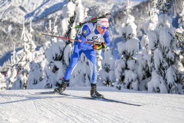 Fillon Maillet´lle voitto Nove Meston pikakisassa, Tero Seppälälle liikaa ohilaukauksia