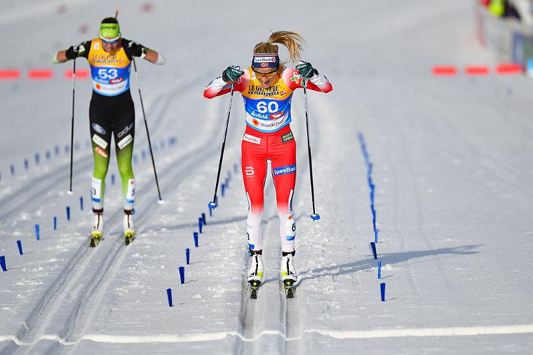 Therese Johaug juoksee Oslossa 11. kesäkuuta
