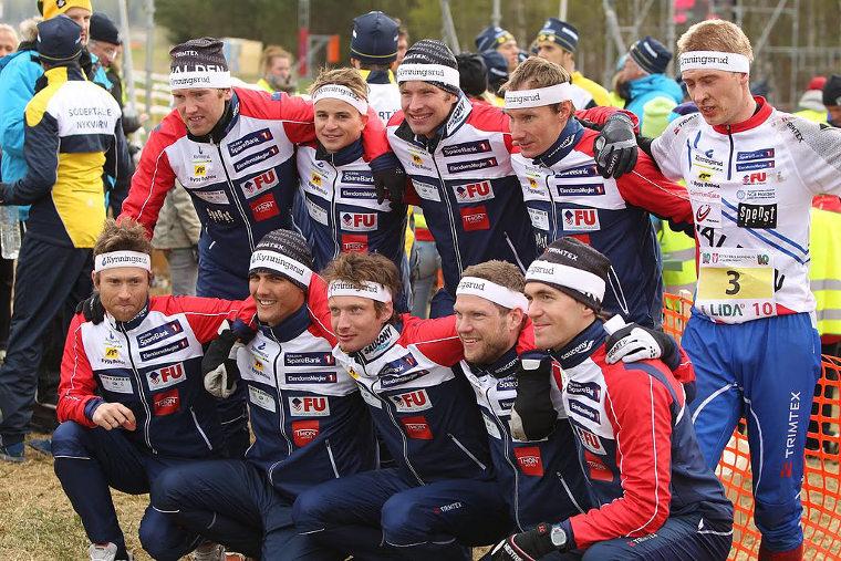 Norjalainen Halden SK on Tiomilan voitokkain seura. Kuva vuoden 2011 Tiomilasta.