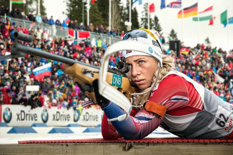 Hurjana hiihtäjänä tunnettu Eckhoff on myös ampunut tällä kaudella mainiosti.